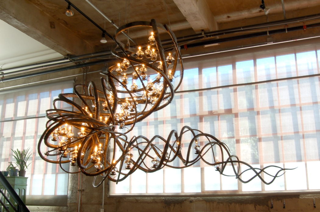 Blacksmith, Forged, Custom, Design, Daniel Hopper Design, Iron, Steel, Chandelier, Lighting