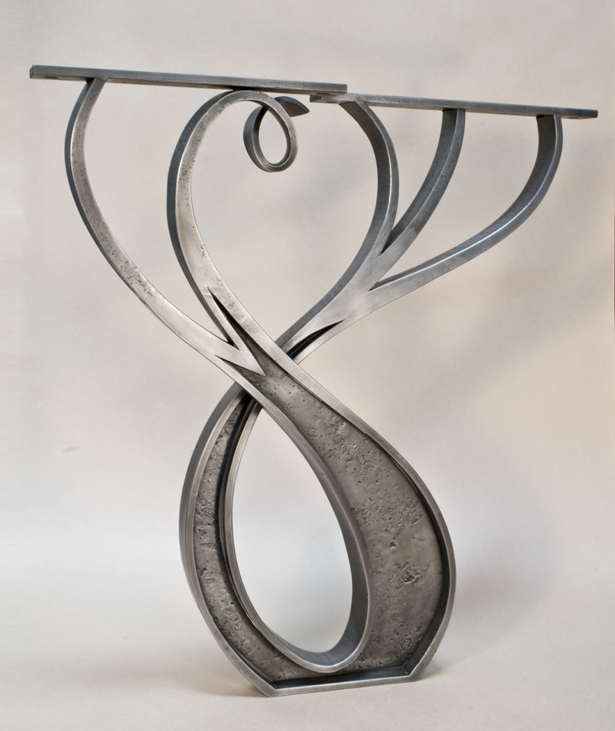 Daniel Hopper Design, Blacksmith, Iron, Steel, Furniture, Organic, Custom