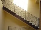 Blacksmith, Forged, Custom, Design, Daniel Hopper Design, Iron, Steel, Railing