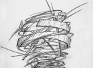 Blacksmith, Forged, Custom, Design, Daniel Hopper Design, Iron, Steel, Wasp Nest, Sconce, Lighting, Design