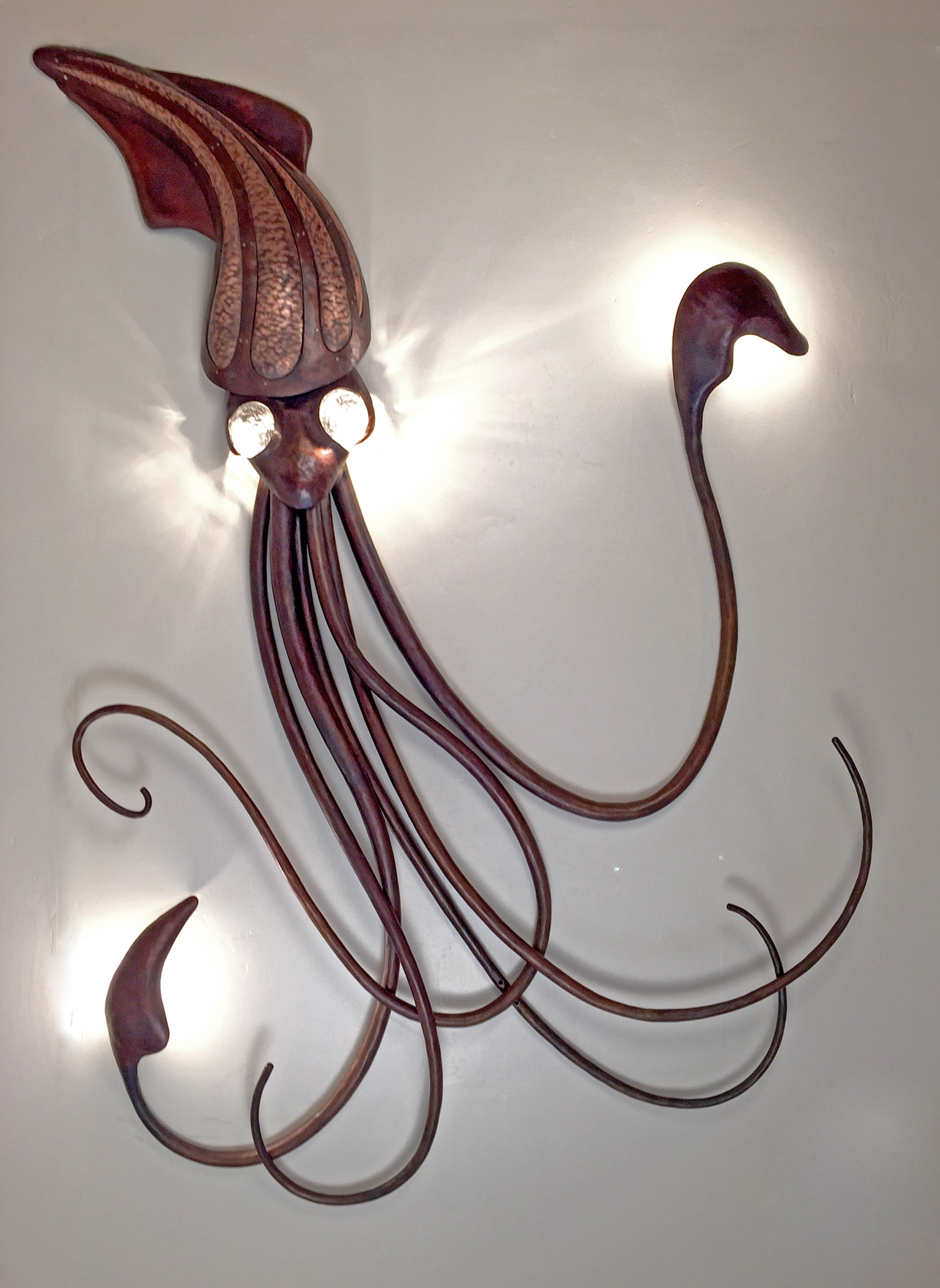 Blacksmith, Forged, Custom, Design, Daniel Hopper Design, Iron, Steel, Copper, Chandelier