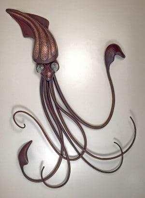 Blacksmith, Forged, Custom, Design, Daniel Hopper Design, Iron, Steel, Copper, Chandelier