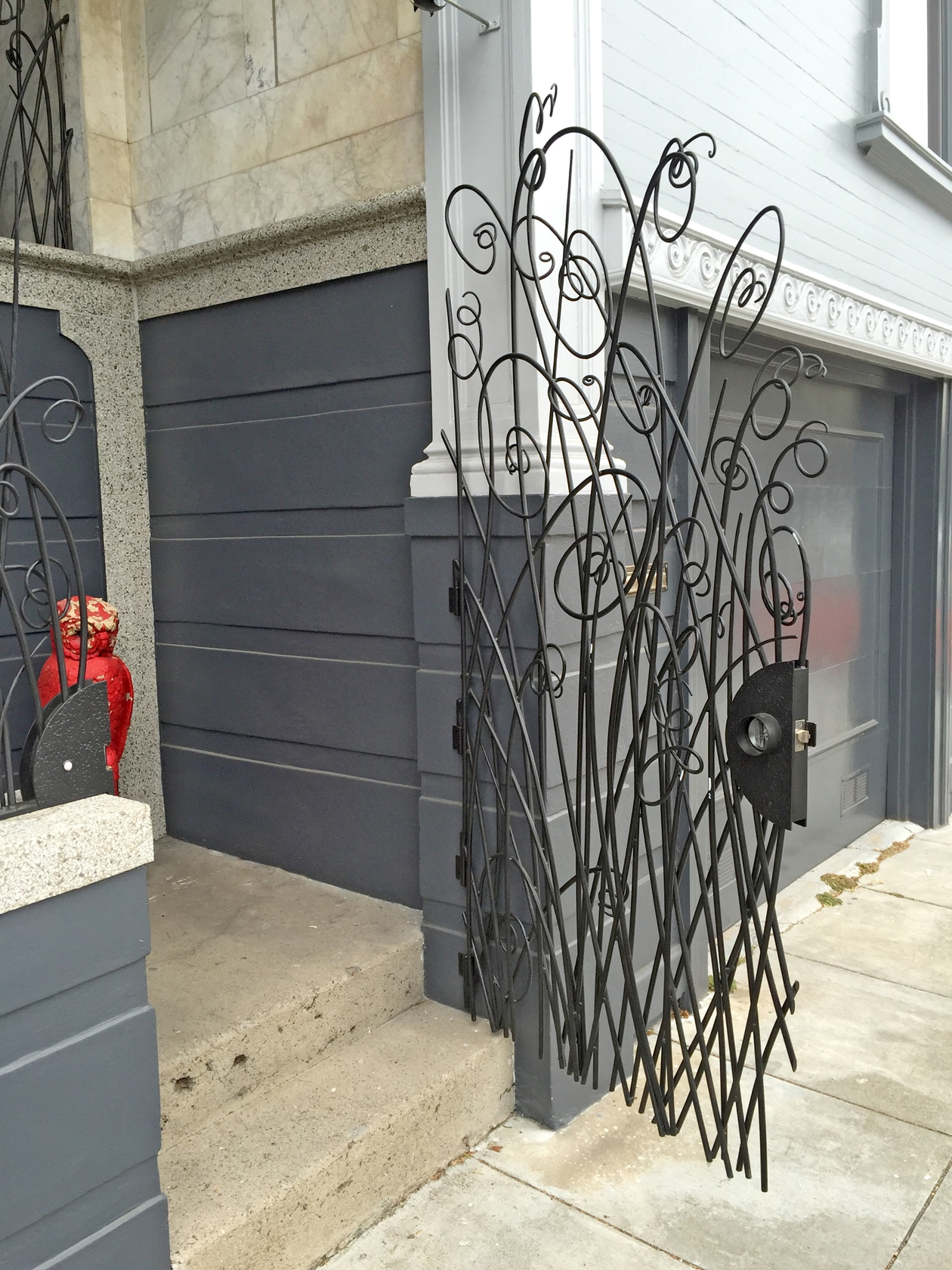 Blacksmith, Forged, Custom, Design, Daniel Hopper Design, Iron, Steel, Birds, Railing, Gate