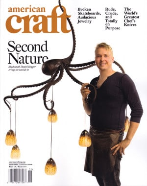 Blacksmith, Forged, Custom, Design, Daniel Hopper Design, Iron, Steel, Publicity, American Craft Magazine