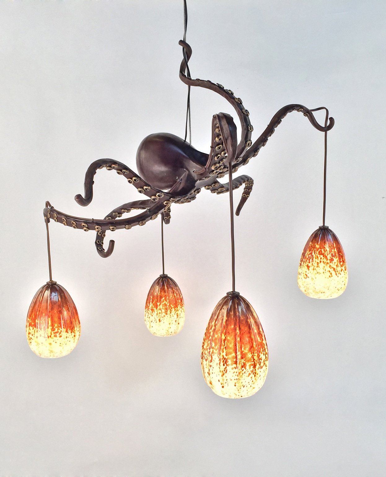Octopus chandelier mini me daniel hopper design - Chandelier ceiling lamp ...