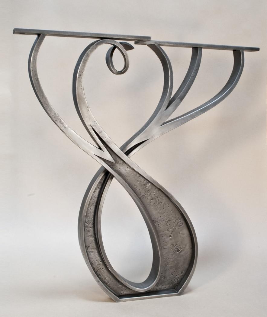 Iron Desk Legs Daniel Hopper Design
