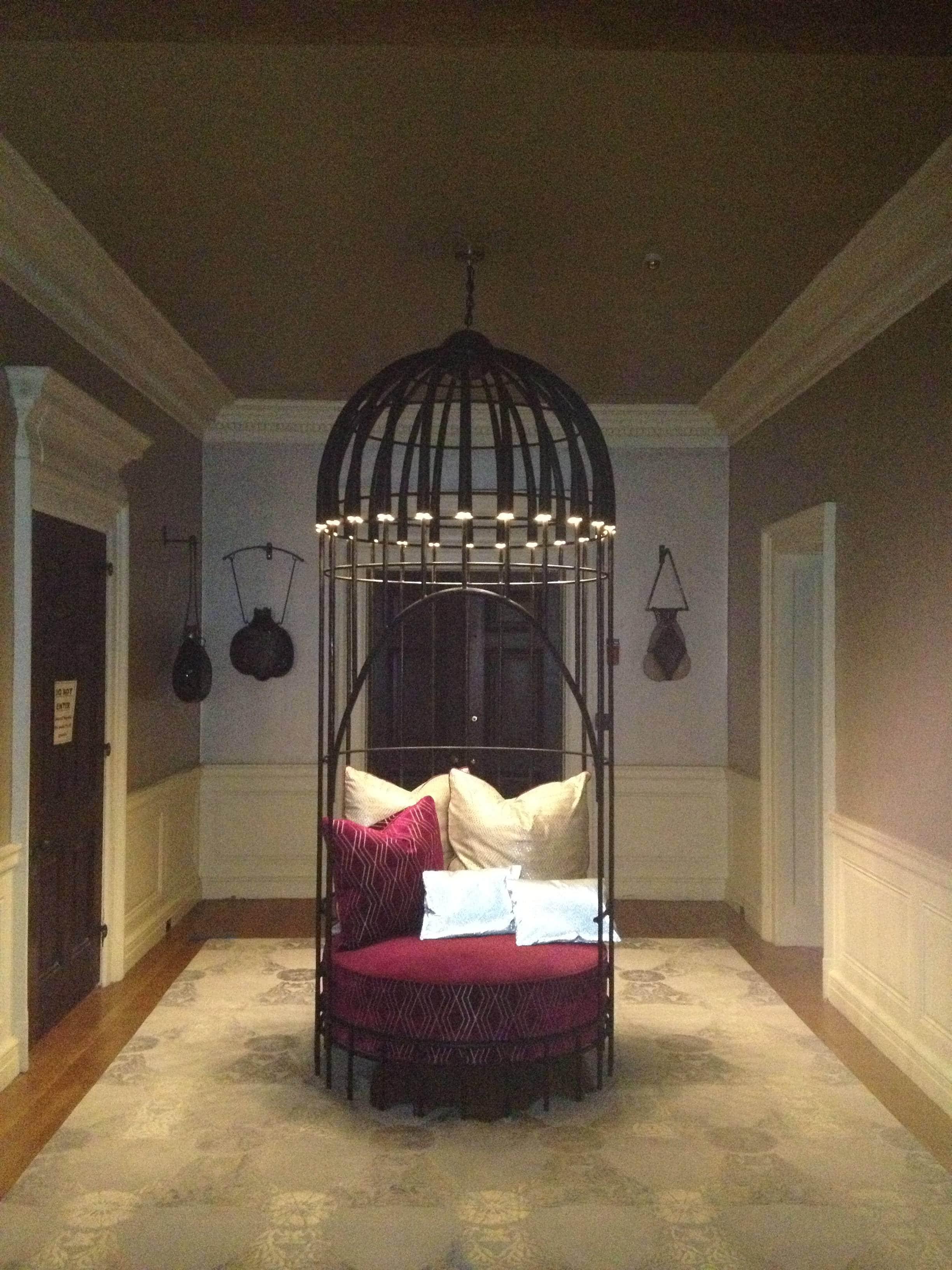 Top Birdcage Chair   Daniel Hopper Design ZI32