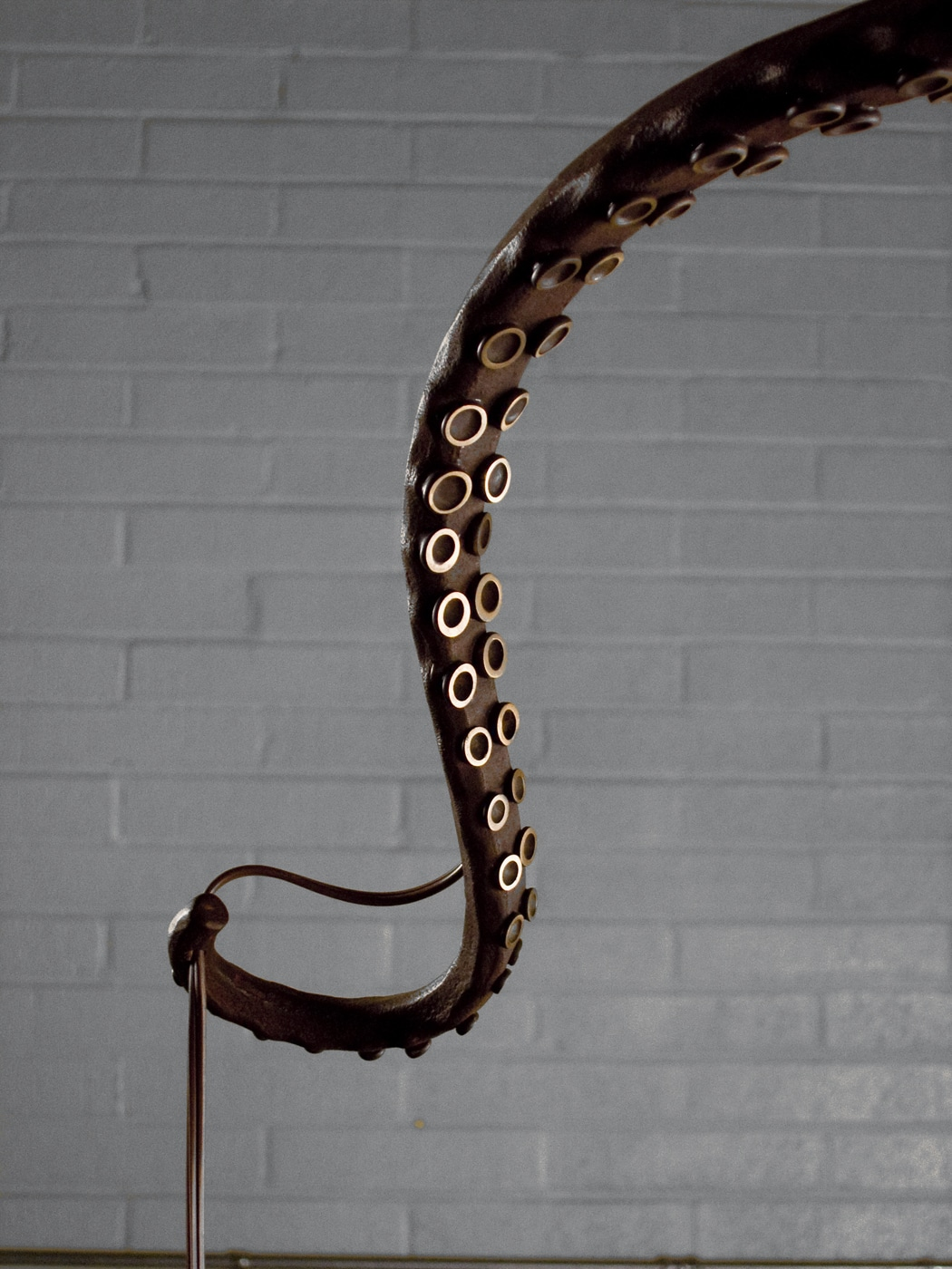 Octopus chandelier daniel hopper design blacksmith forged custom design daniel hopper design iron steel aloadofball Images